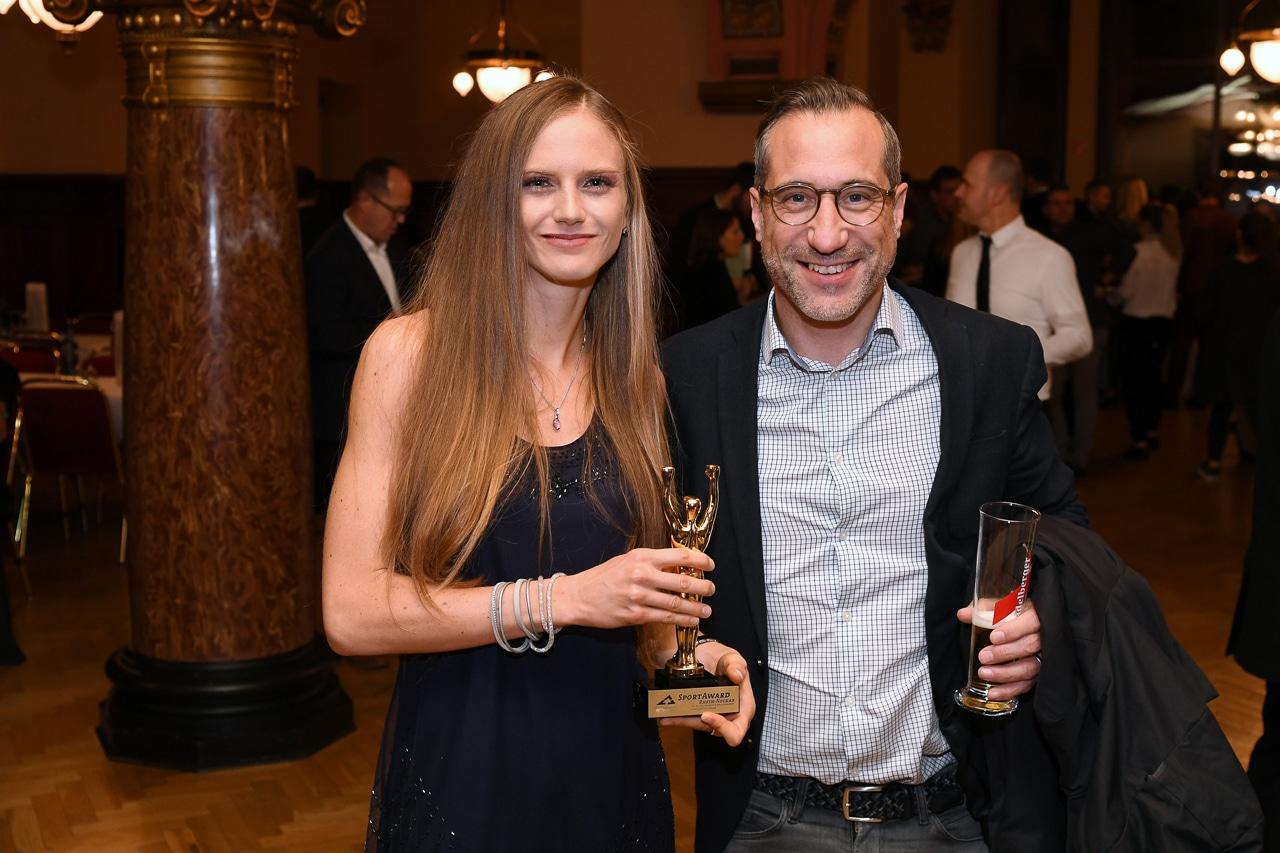 SportAward, engelhorn sports Publikumsliebling, Fabienne Amrhein