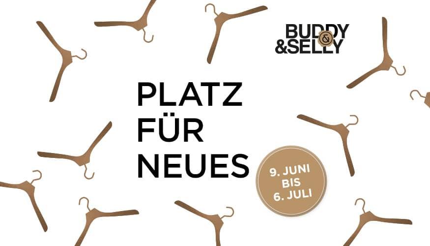 Juni Special: Buddy & Selly Designankauf von Zuhause