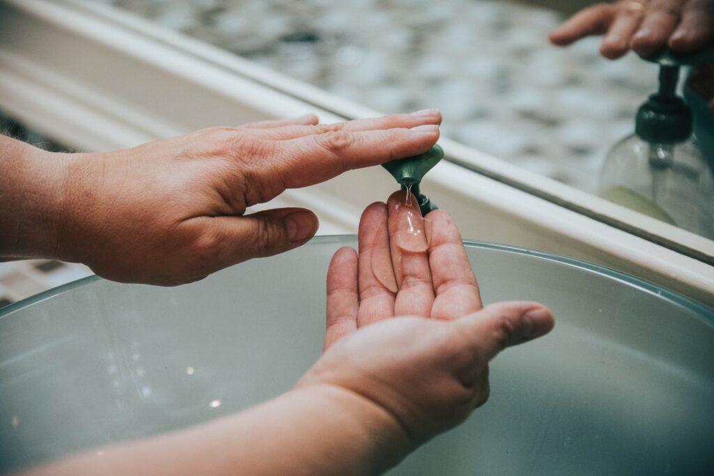Handpflege Seife