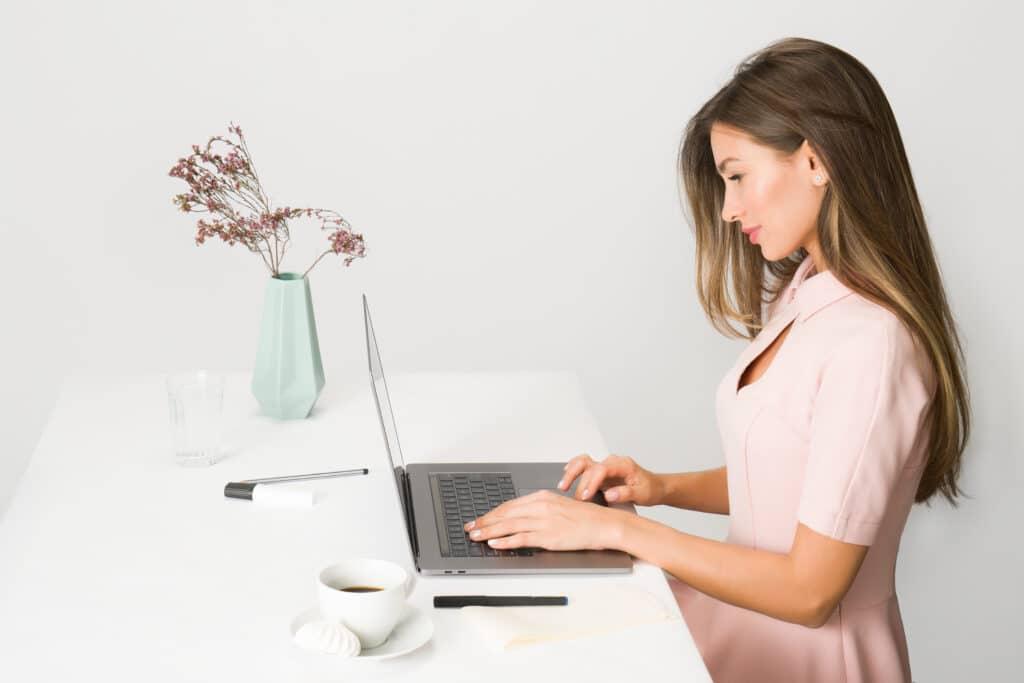 Freelance working online