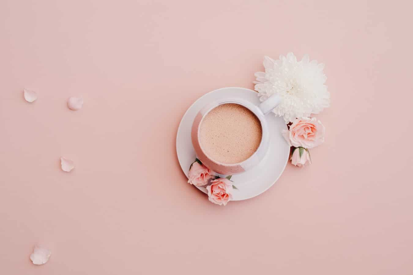 Food-Trends, Kaffee, rosa, Rosen