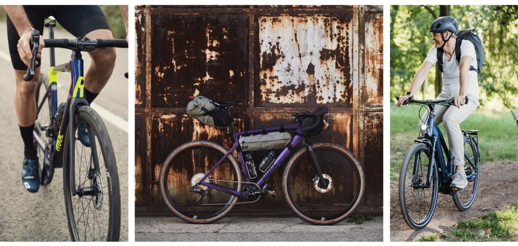 Auswahl der Rose Bikes