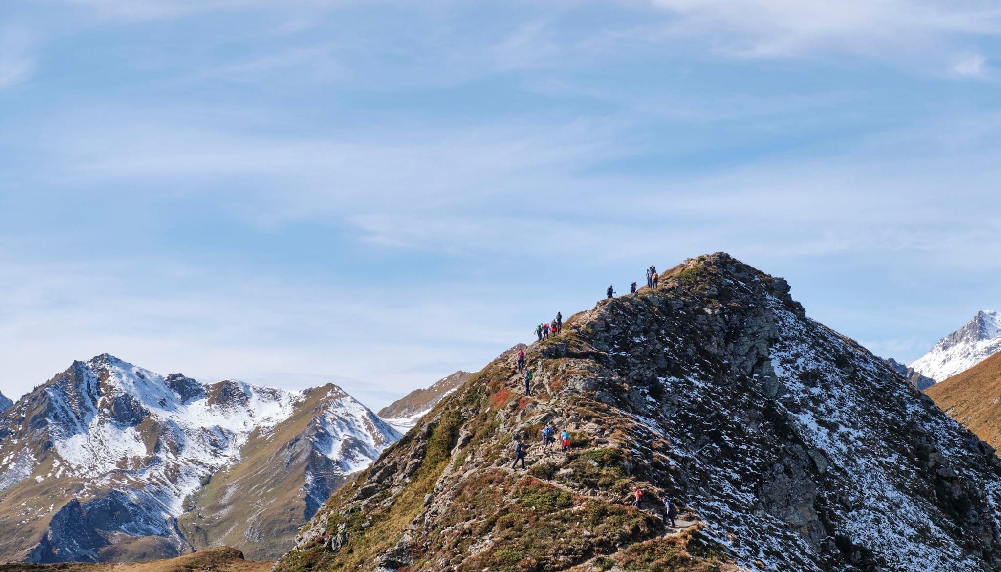 Alpenüberquerung, Wandern, Hiking, Gewinnspiel