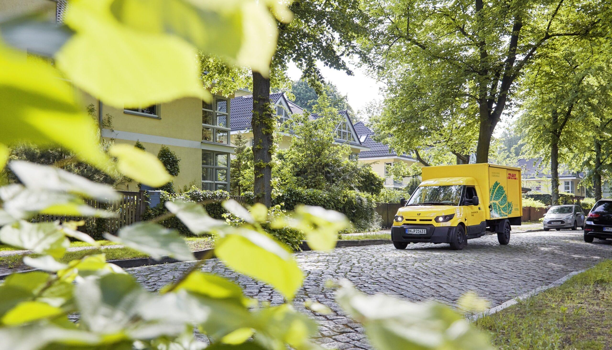 Nachhaltiger Versand mit DHL Go Green
