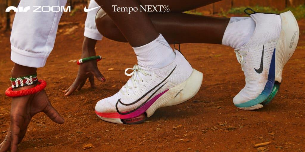 Laufschuhe Nike Tempo Next Percent