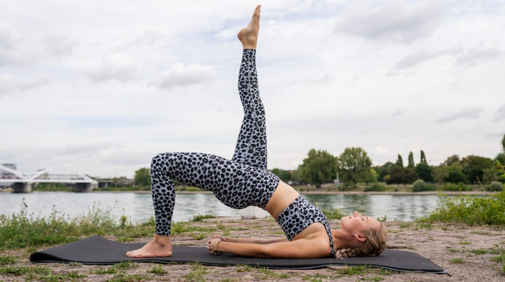 Yogaposen Setubandhasana