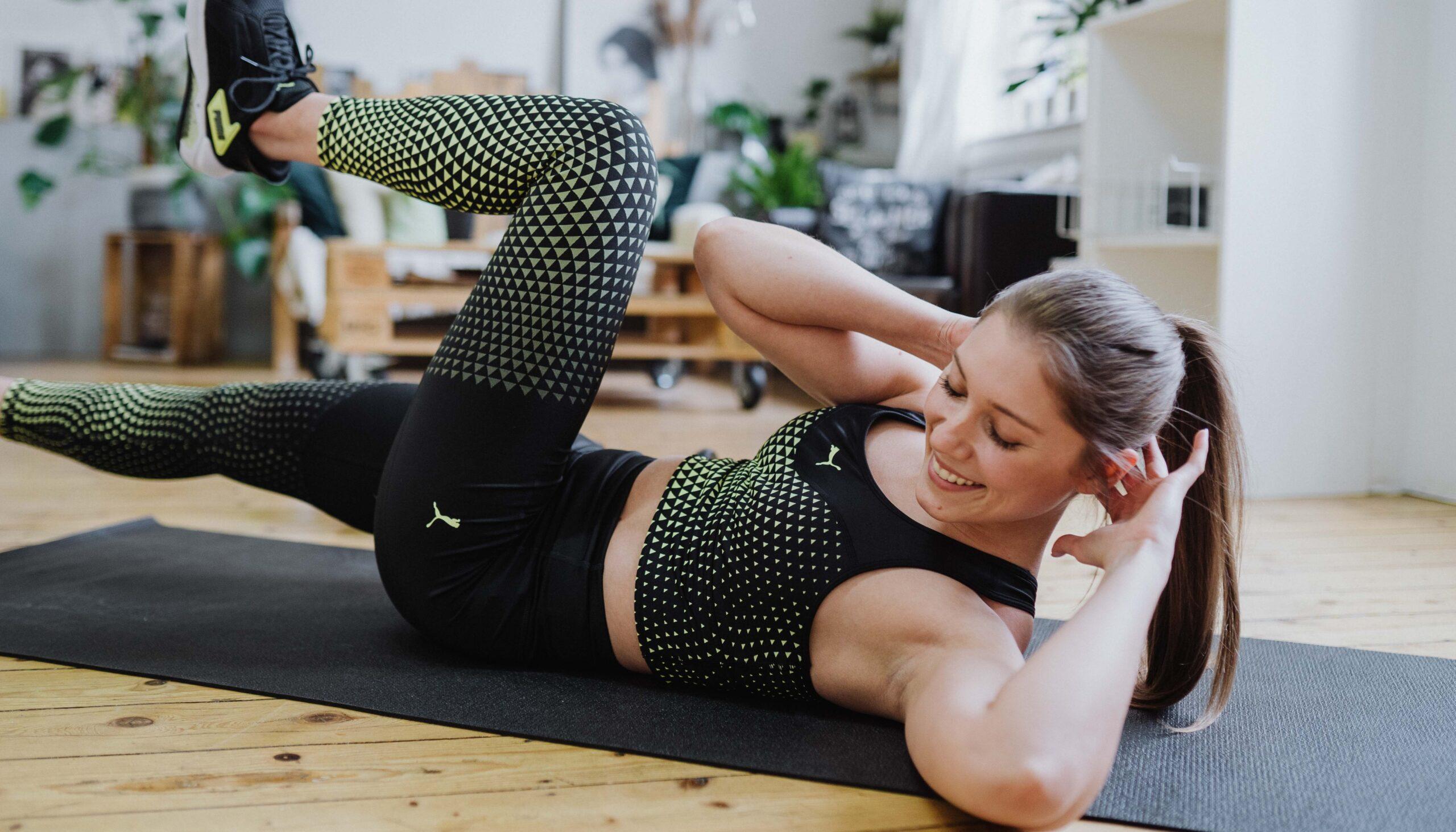Helfen Schritt Mutter Workout