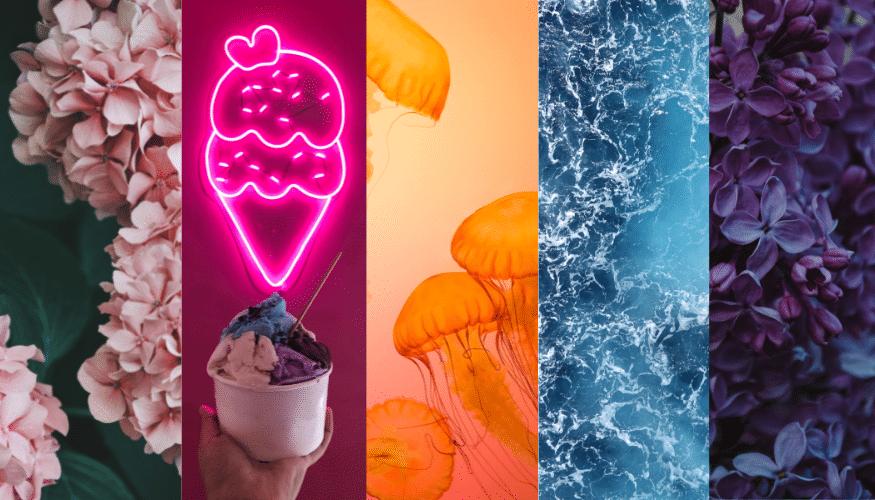 Von Zuckerwattenrosa bis Mintgrün – So kombiniert man die Trendfarben 2021 richtig!