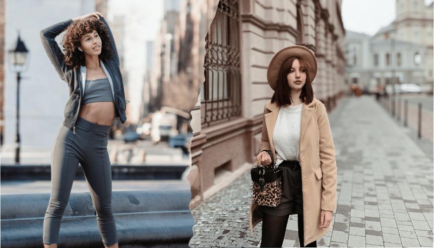 Vom Sport-Outfit zum Freizeit-Look