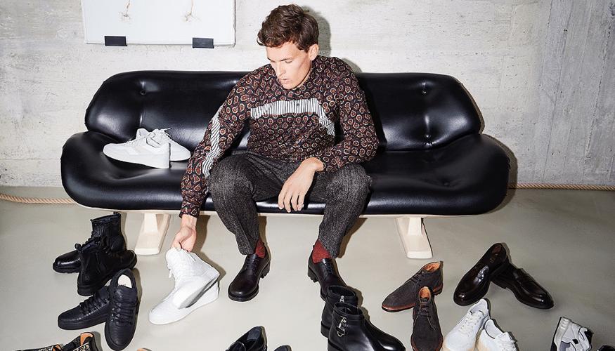 Alles Neu – Schuhe und Design auf einer Fläche vereint